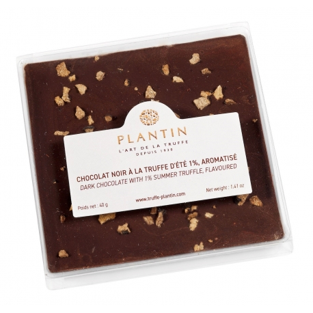 Dark Chocolate bar with Summer Truffle