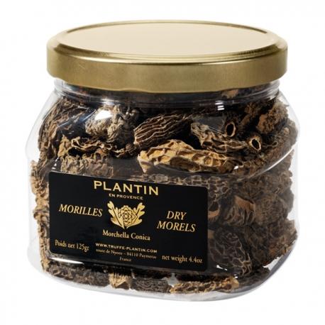 Dry Morels Morchela Conica